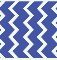 Blue and white zigzag line seamless pattern vector