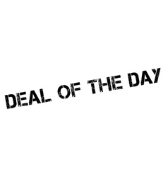 Deal Of The Day rubber stamp vector