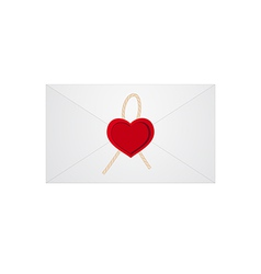Heart letter 01 vector