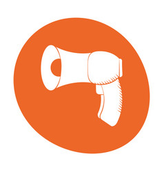 Megaphone loudspeaker sound marketing icon color vector