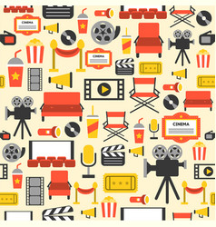 Movie element design vector