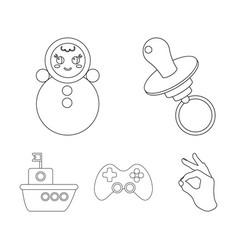 Nipple doll tumbler joystick shiptoys set vector