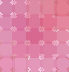 Pink abstract background geometric pattern vector image