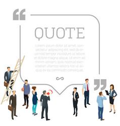 Testimonials quote shape concept vector