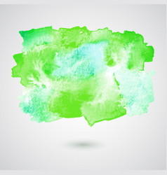 watercolor splash background vector image