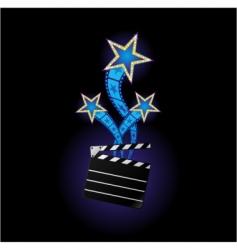 Stars from cinema vector