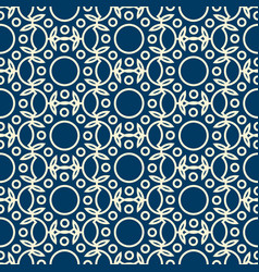 Abstract dichromatic seamless pattern vector