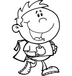 Cartoon child vector
