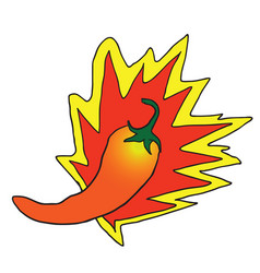 Chili pepper vector