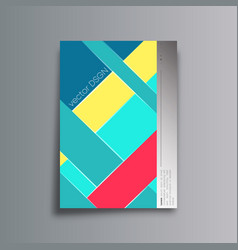 Colorful abstract background for the banner flyer vector