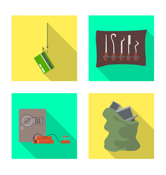Crime and steal icon vector