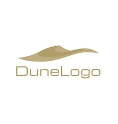 dune logo vector image