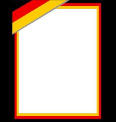 German flag border vector