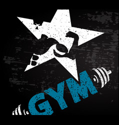 Going for to a gym vector