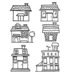 House hand draw vector