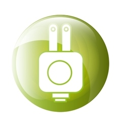 Plug icon symbol design vector
