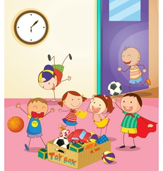 Preschool Classroom vector