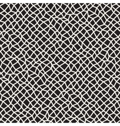 Seamless Black and White Distorted vector