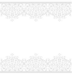 Seamless pattern of vintage floral background vector