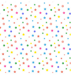 Sequins confetti pattern vector
