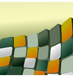 squares abstract background vector image vector image