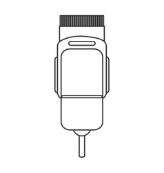 electric hair clipper icon vector image vector image