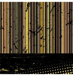 Vector striped grunge background vector