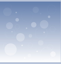 abstract blue defocused background vector image