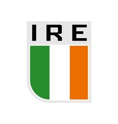 Flag of Ireland Icon vector