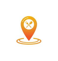 location point icon vector image