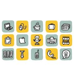 Icon office vector