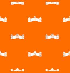 great wall of china pattern seamless vector image vector image