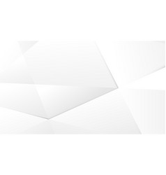 abstract low poly white modern background vector image