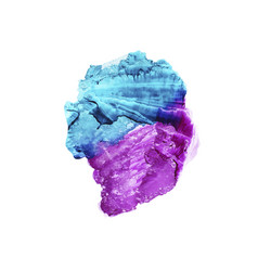 abstract violet and blue watercolor background vector image