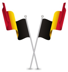 Belgium Waving Flag vector