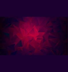 Dark maroon red low poly trendy backdrop vector