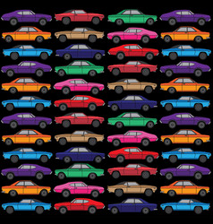 diecast toy car vector image