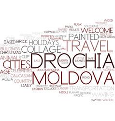 drochia word cloud concept vector image
