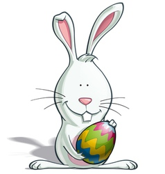 Easter Bunny Egg vector image