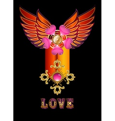 Forever Love vector image