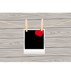Hearts clothespins 05 vector