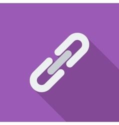 Link single icon vector image