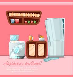 modern cartoon flat home repair service concept vector image