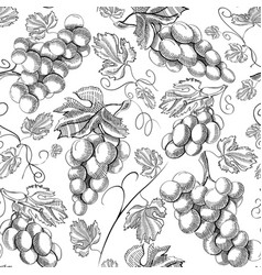 Organic fresh seamless pattern vector