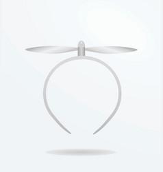 propeller headband vector image