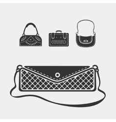 Set female bags vector