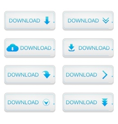 Set of Loading Streaming Buffering Play Go vector image