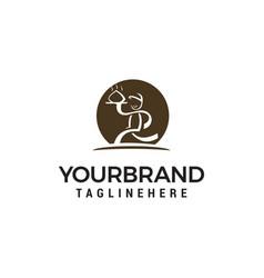 Chef logo design concept template vector