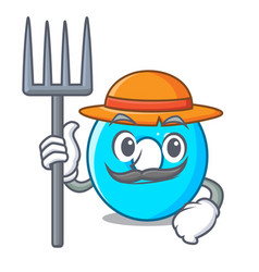 farmer the number zero on the character vector image