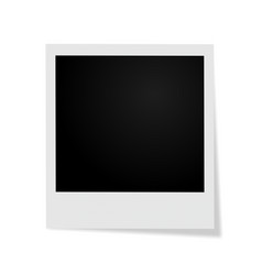 frame on white background with shadow vector image